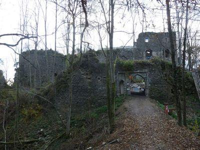 Ruine Falkenstein Hofkirchen i. M.
